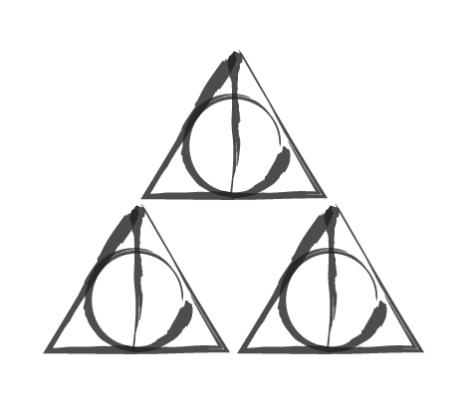 triforce_meets_deathly_hallows_by_numonik-d4dnw4s